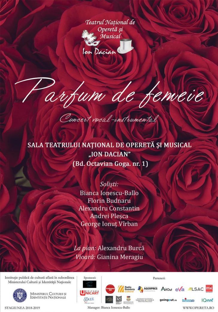 Parfum De Femeie Bilete La Spectacol Teatrul Național De Operetă